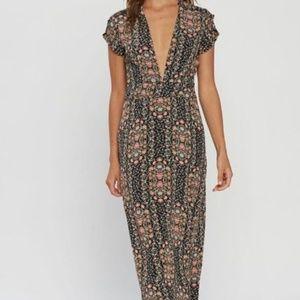 Flynn Skye Valentina Maxi Dress Floral Print
